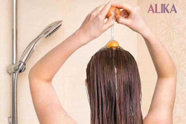 cách làm tóc mọc nhanh bằng trứng gà
